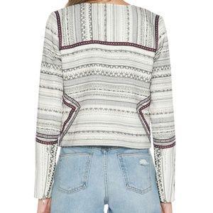 Tularosa Jackets & Coats - TULAROSA Griffin Jacket zip front metallic M